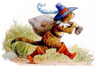 Умный кот из сказки Ш. Перро, который достался в наследство младшему брату и