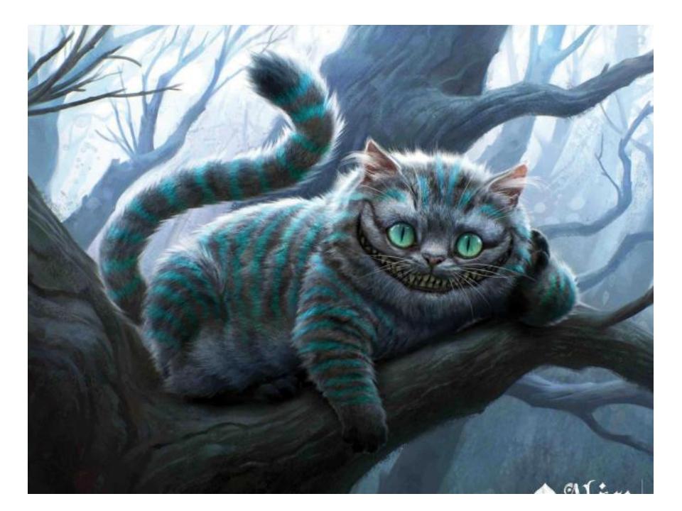 В честь этого кота графстве Чешир, изготавливались вкусные, тающие во рту сыр...