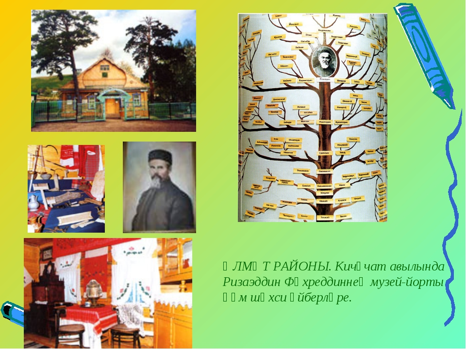 ӘЛМӘТ РАЙОНЫ. Кичүчат авылында Ризаэддин Фәхреддиннең музей-йорты һәм шәхси ә...