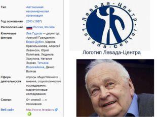 Логотип Левада-Центра