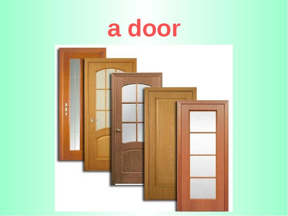 a door