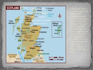 Scotland (Gaelic: Alba) is a country that is part of the United Kingdom. Occu