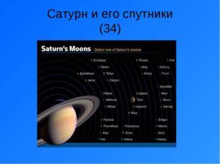 Сатурн и его спутники (34)