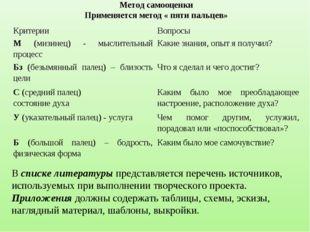 В списке литературы представляется перечень источников, используемых при выпо