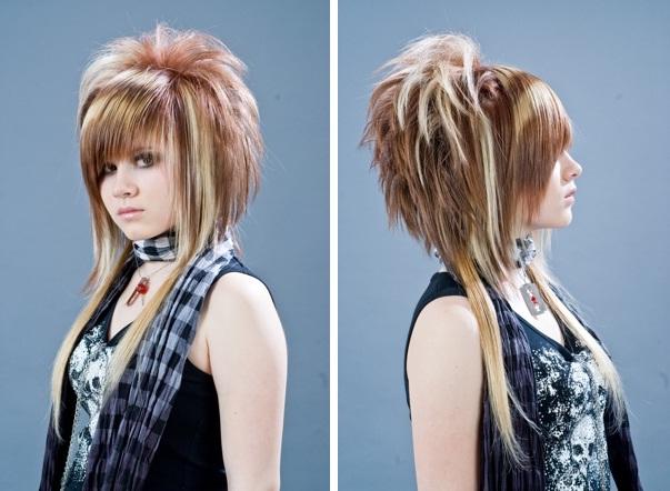 Фото современных молодежных стрижек для девушек