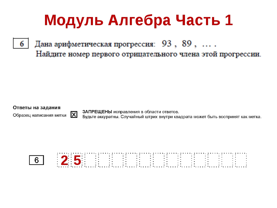 Модуль Алгебра Часть 1 2 5
