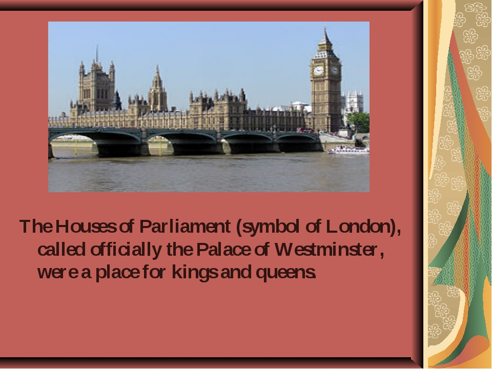 The Houses of Parliament (symbol of London), called officially the Palace of...