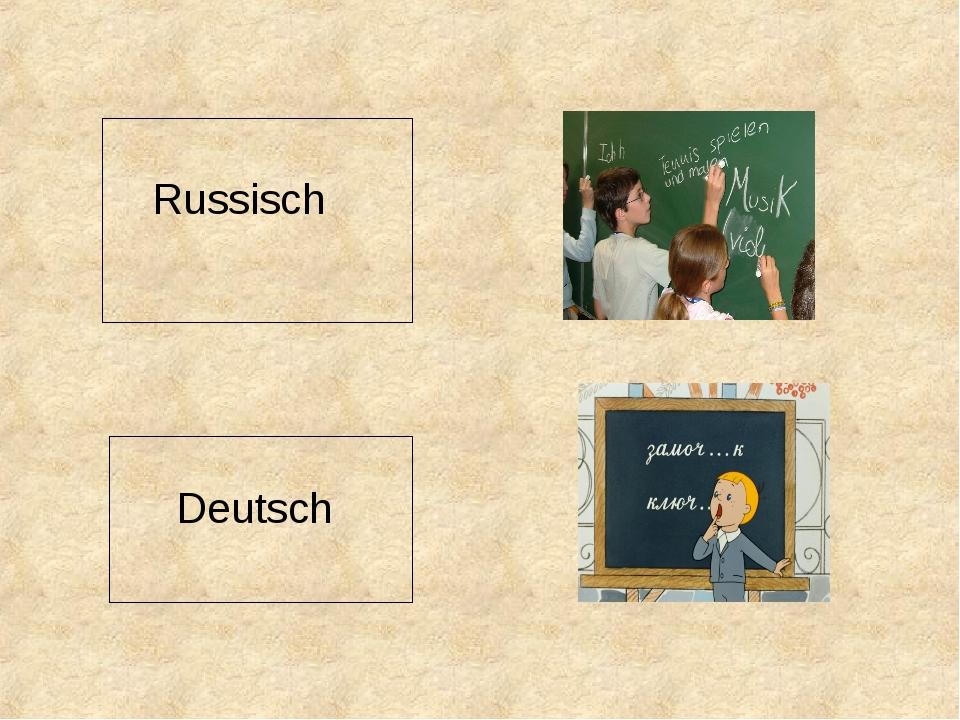 Russisch Deutsch