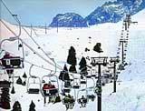Чимбулак лыжный курорт. Фотографии Алматы