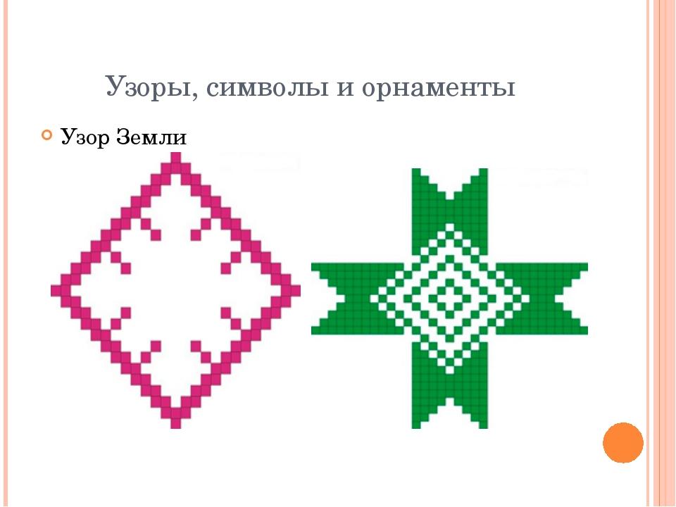 Узоры, символы и орнаменты Узор Земли Символ ребенка