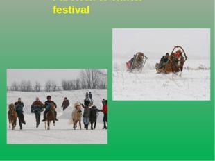 Farewell to winter festival