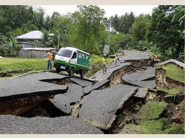 Earthquake is…