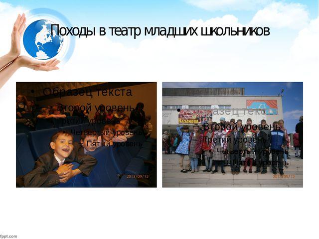 Походы в театр младших школьников