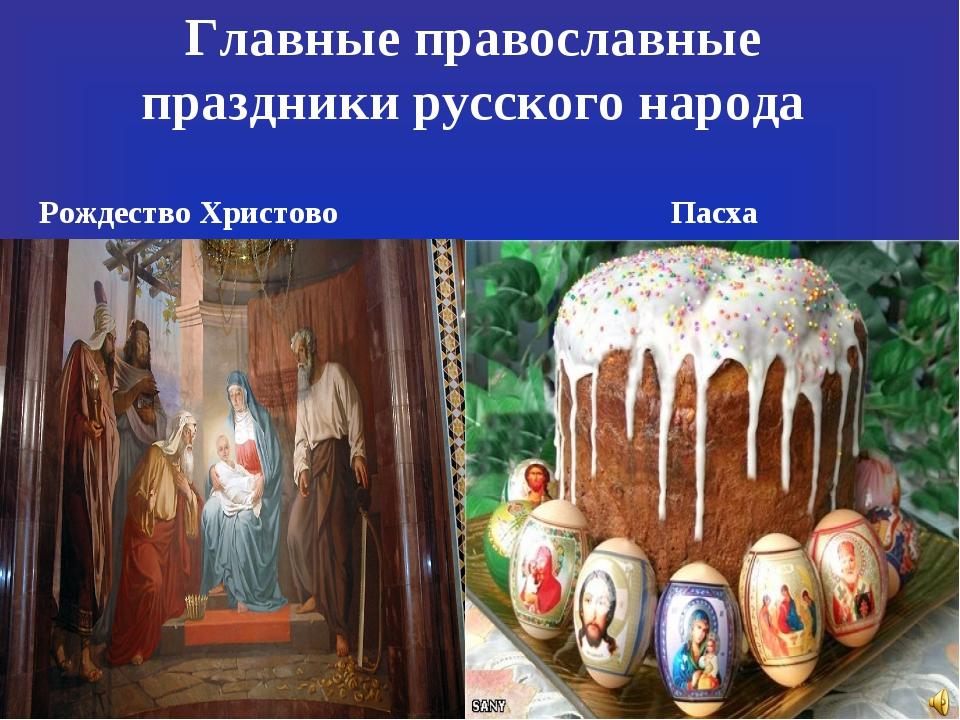Православные праздники народов