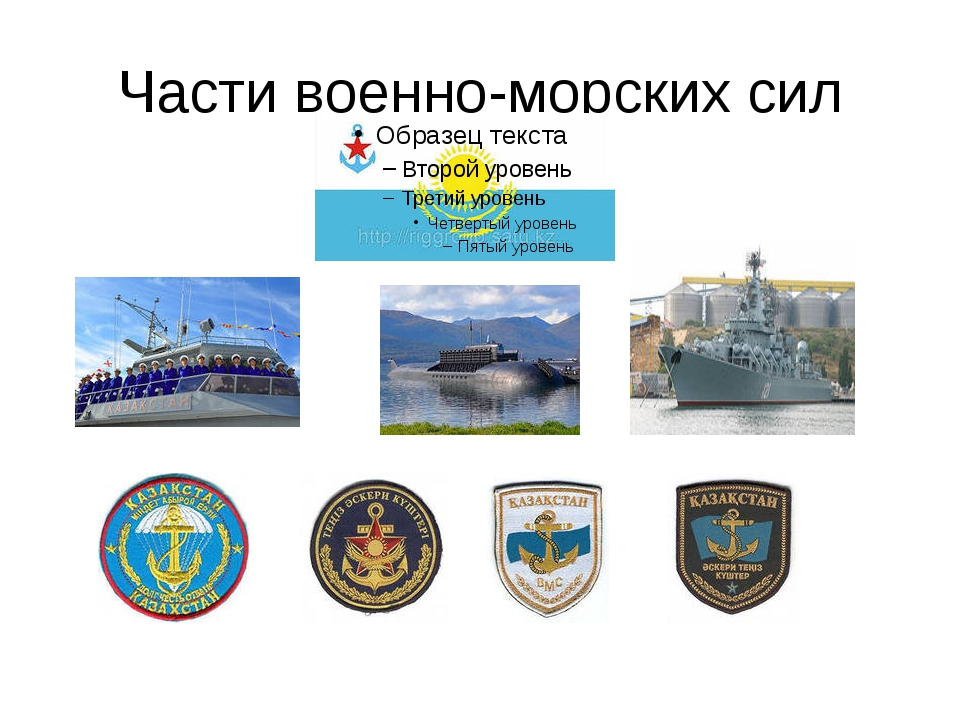 Части военно-морских сил