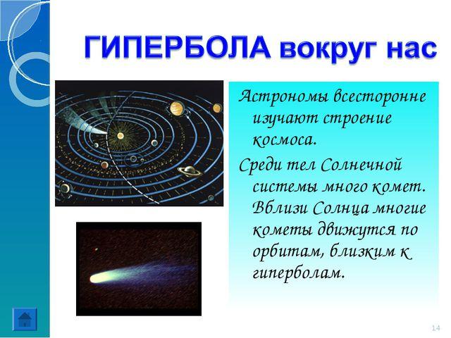 Астрономы всесторонне изучают строение космоса. Среди тел Солнечной системы м...