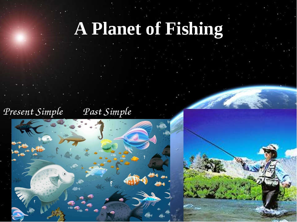 A Planet of Fishing Present Simple Past Simple