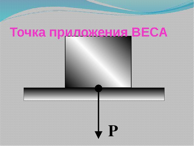Точка приложения ВЕСА Р