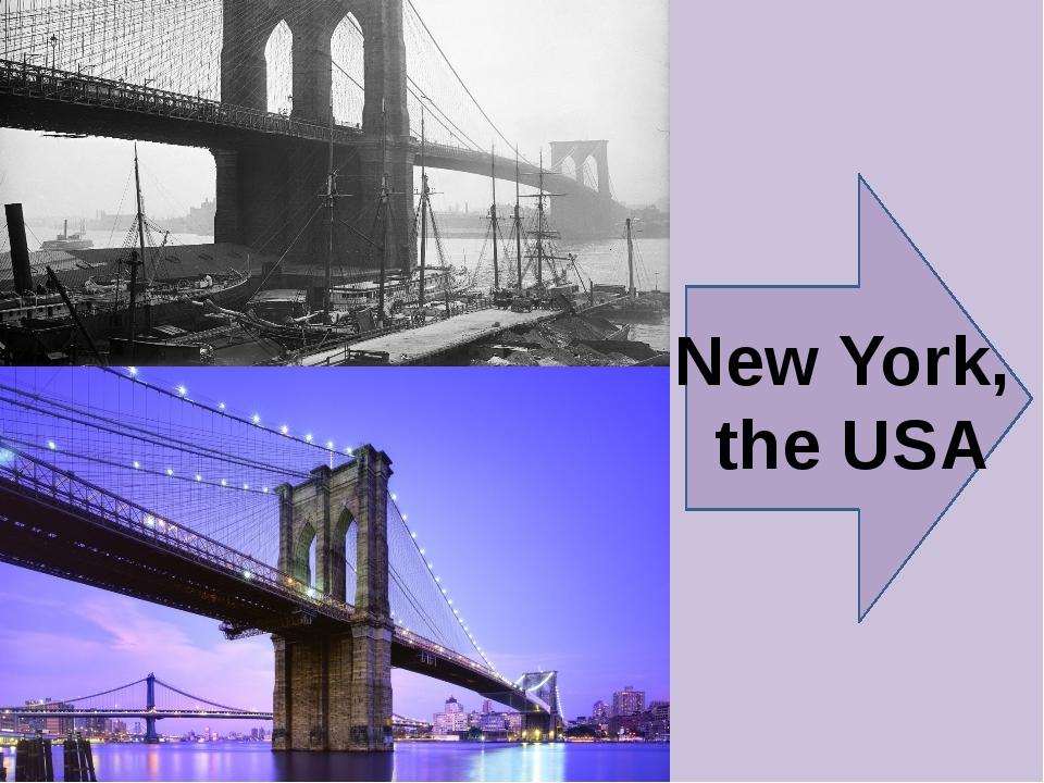 New York, the USA