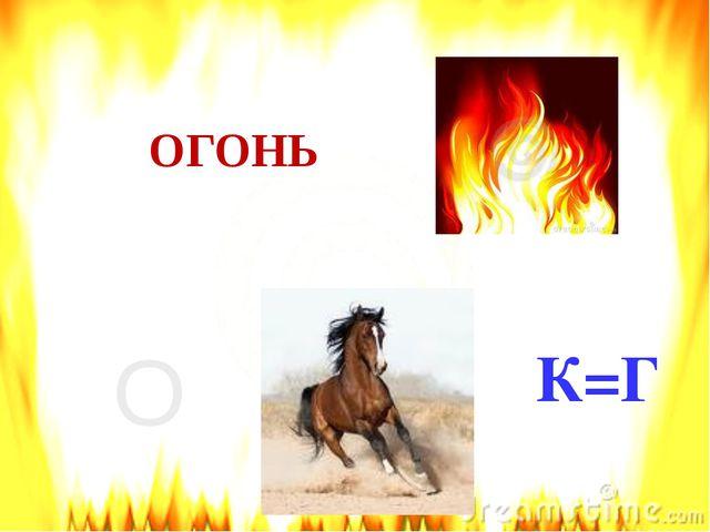 О К=Г ОГОНЬ