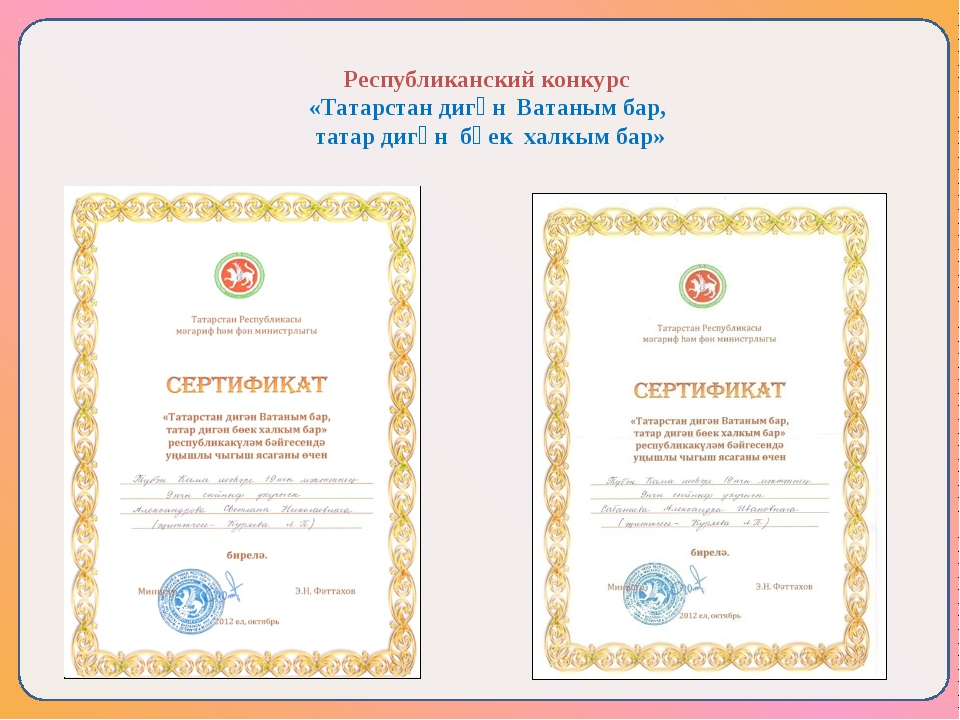 Республиканского конкурса мой татарстан
