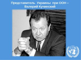 Представитель Украины при ООН – Валерий Кучинский