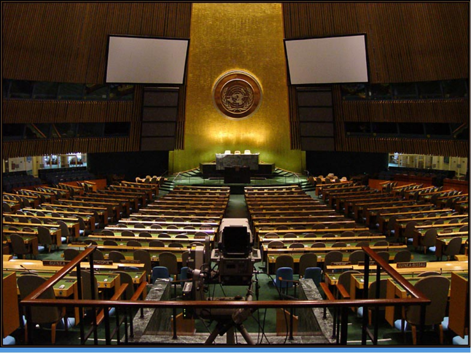 Генеральная Ассамблея ООН Главный совещательный, директивный и представительс...
