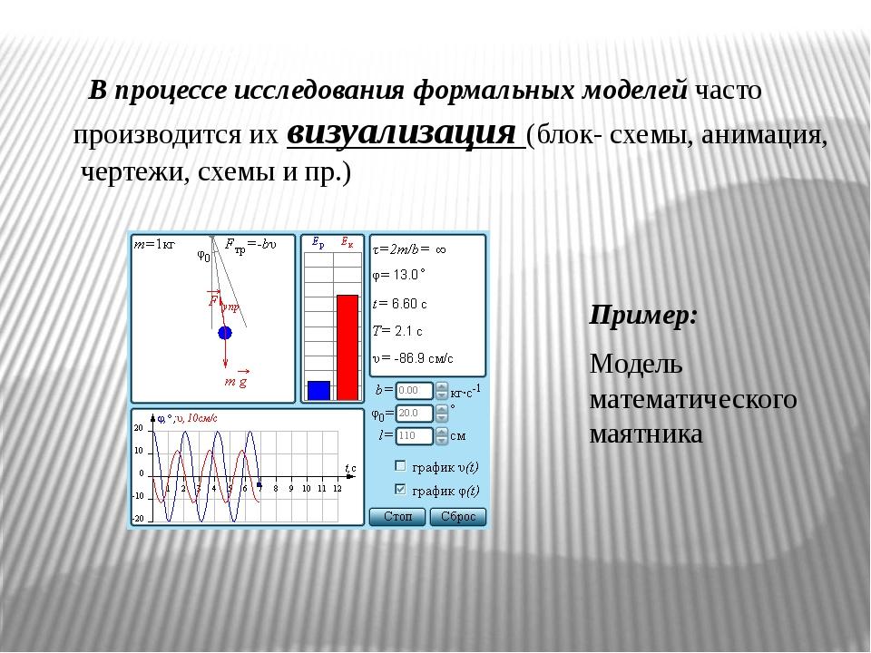 В процессе исследования формальных моделей часто производится их визуализаци...