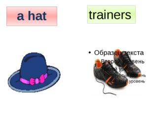 trainers a hat