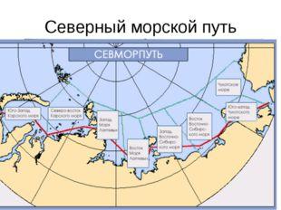 Северный морской путь Вначале 30-х годов «идеей фикс» было открытие судоходно