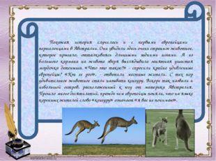 Похожая история случилась и с первыми европейцами переселенцами в Австралии.