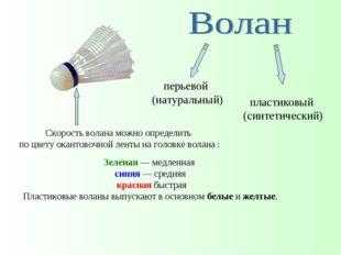 пластиковый (синтетический) перьевой (натуральный) Зеленая— медленная синяя