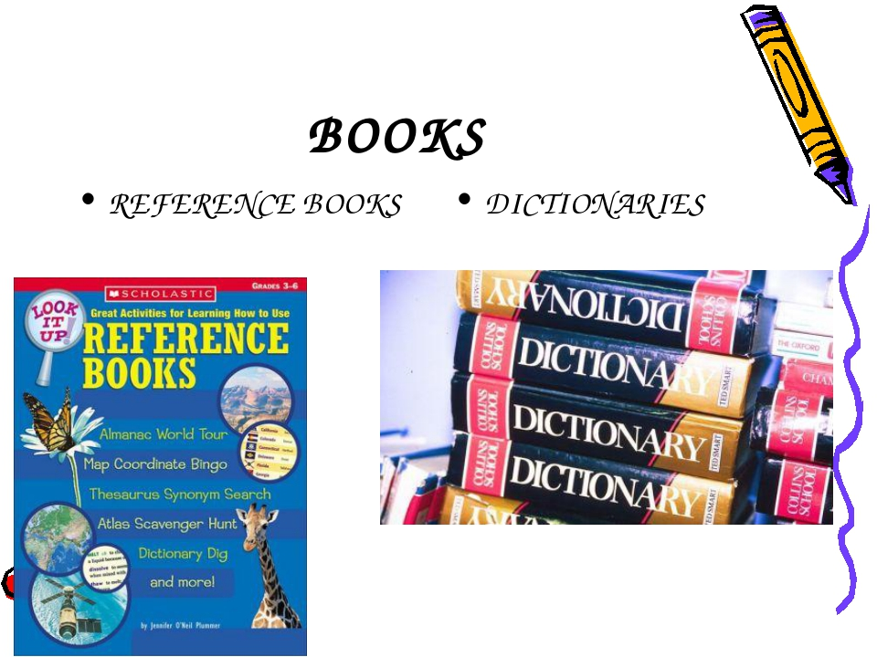 BOOKS REFERENCE BOOKS DICTIONARIES