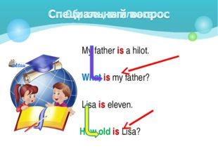 My father is a hilot. What is my father? Lisa is eleven. How old is Lisa?