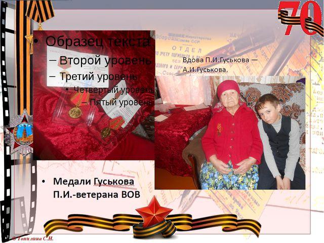 © Топилина С.Н.