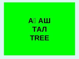 АҒАШ ТАЛ TREE