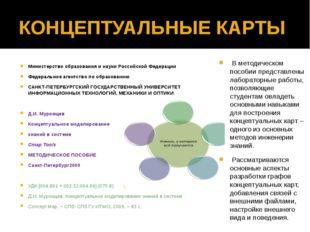 КОНЦЕПТУАЛЬНЫЕ КАРТЫ Министерство образования и науки Российской Федерации Фе