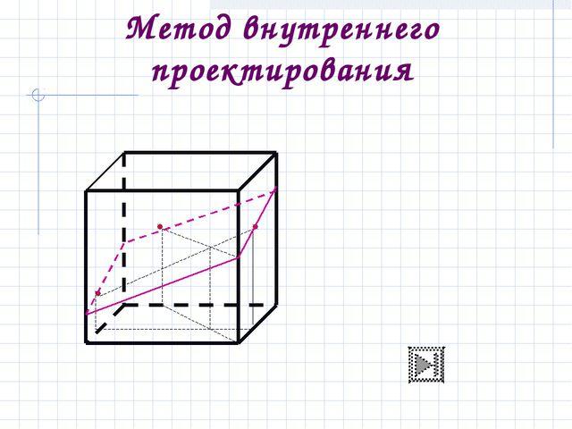 Метод внутреннего проектирования