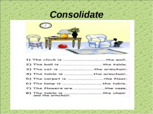 Consolidate