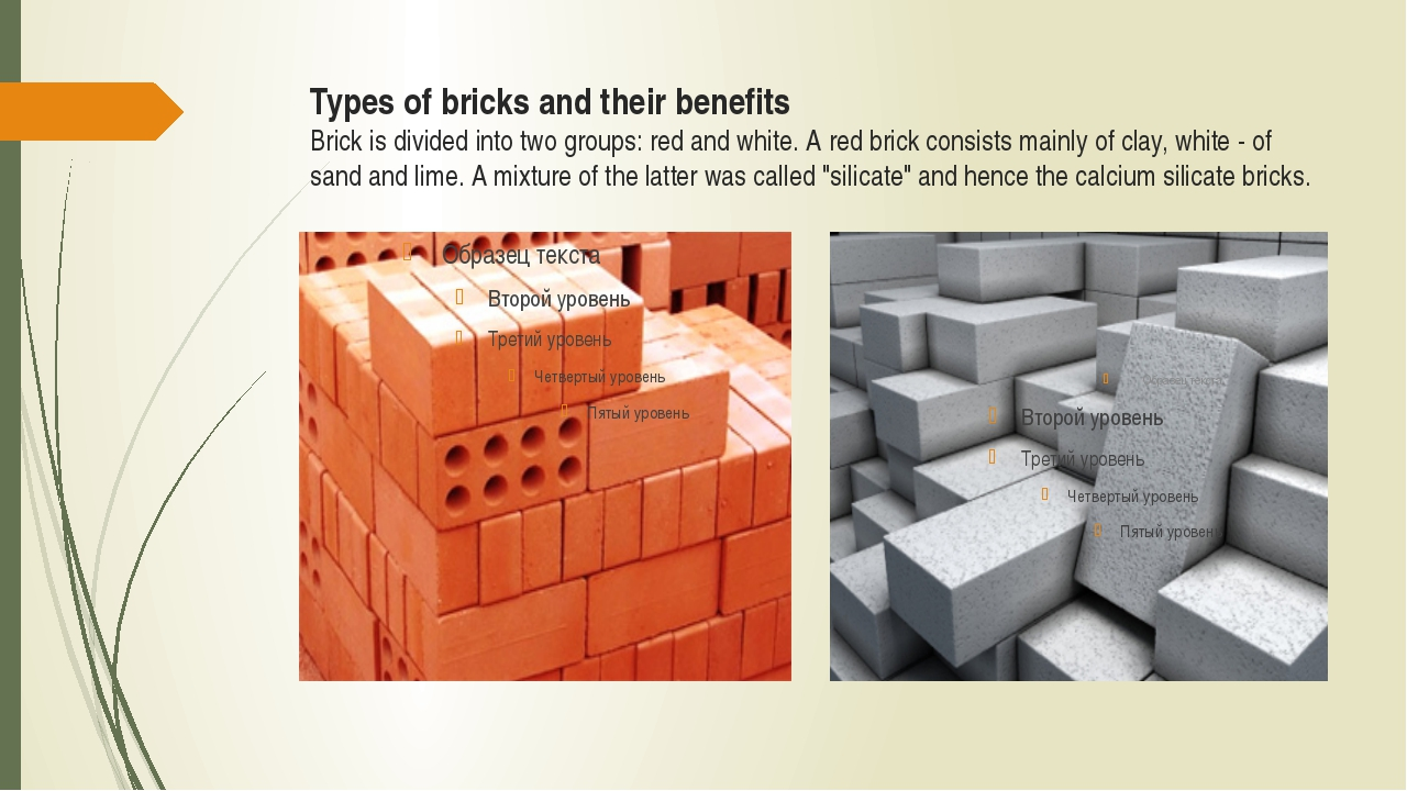 Types of bricks and their benefits Brick is divided into two groups: red and...