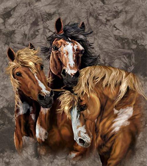 8 лошадей