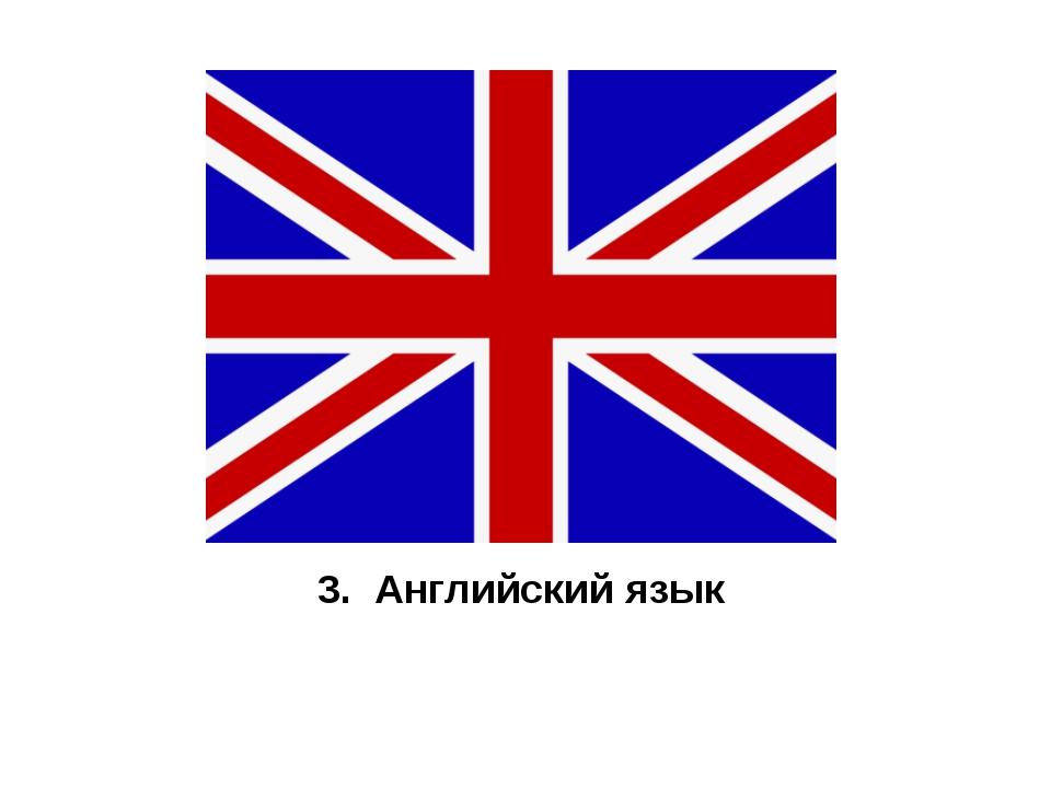 3. Английский язык