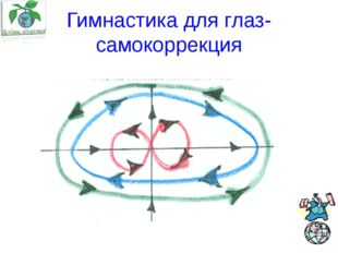 Гимнастика для глаз- самокоррекция