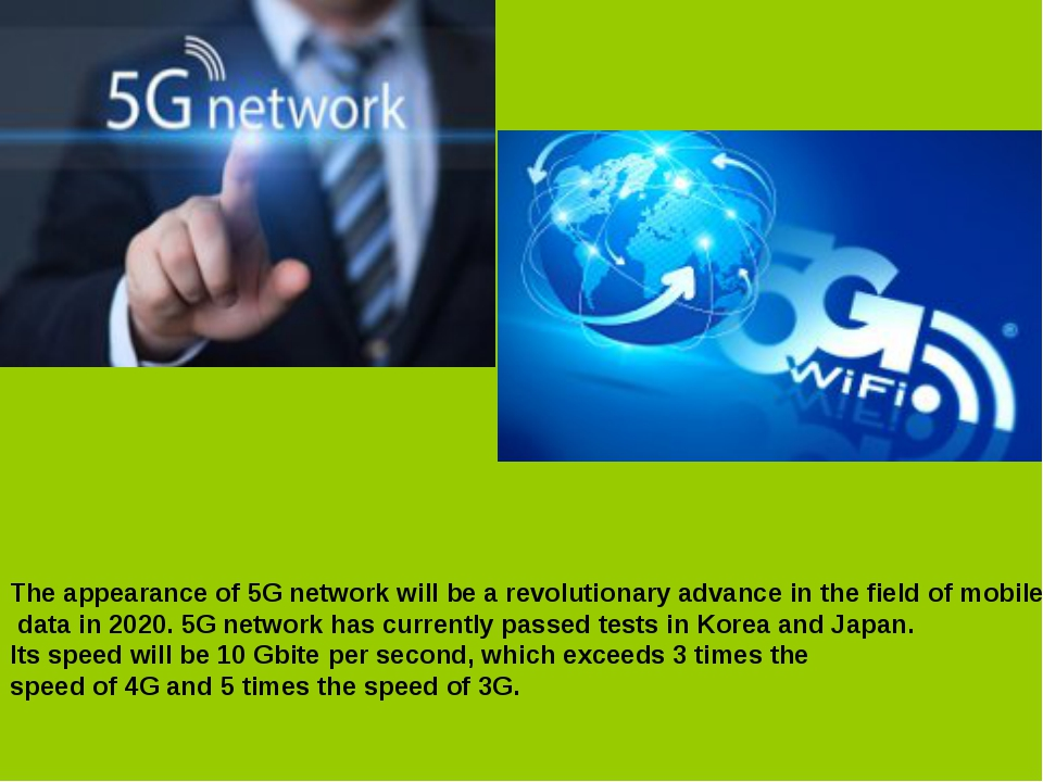 The appearance of 5G network will be a revolutionary advance in the field of...
