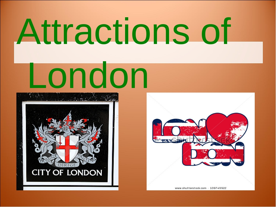Attractions of London