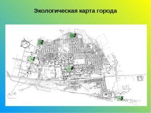 Экологическая карта города