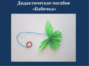 Дидактическое пособие «Бабочка»