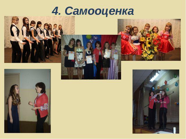 4. Самооценка