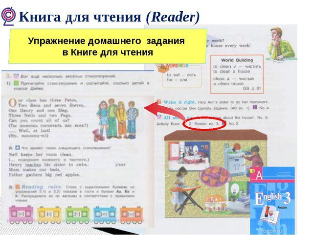Книга для чтения (Reader) Упражнение домашнего задания в Книге для чтения