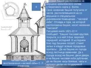 Часовая башня. Проект восстановления «часовой избы» С. Л. Агафонова Часовая б